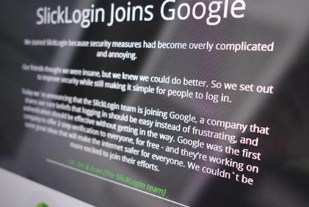 Google crearía contraseñas de audio tras comprar SlickLogin