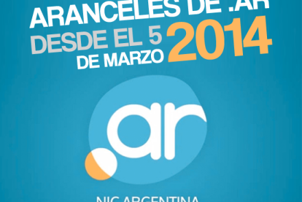 Aranceles Dominios Registro Web Rosario