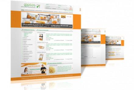 Alimentos Aptos - Diseño de Catálogo Web de Alimentos en Rosario