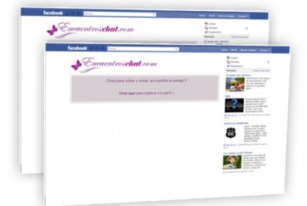 Encuentros Chat - Diseño de Aplicación Facebook