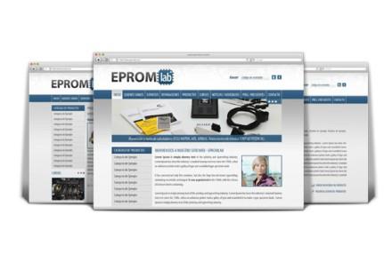 EPROMPOWER - EPROMLAB. Diseño de Catálogo Web de Empresa Automotriz