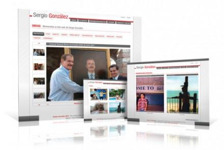 Galerías Arte - Diseño de Sitio Web Personal