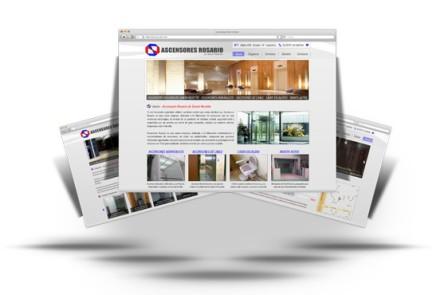 Ascensores Rosario - Diseño de Web Institucional - Corporativa