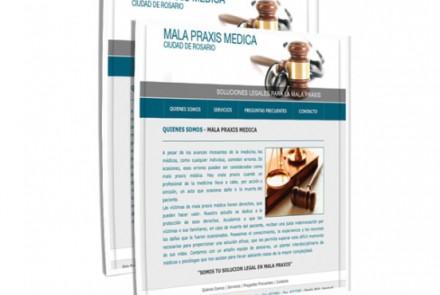 Mala Praxis Médica - Diseño Web Rosario