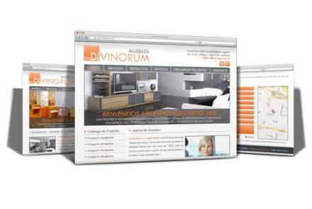 Muebles Divinorum - Diseño de Sitio Web de Mueblería en Rosario