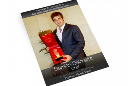 Damián Delorenzi - Diseño de Sitio Web para Programa de Televisión