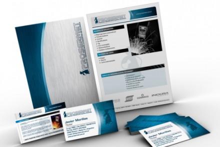 Prosermet - Diseño de imagen corporativa y web