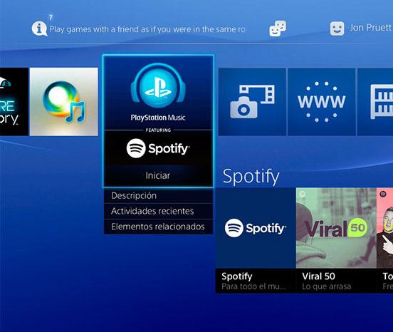 LANZAN PLAYSTATION MUSIC PARA PS4 Y PS3